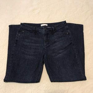 J.Jill Smooth Fit Slim Ankle Jeans- Size 8